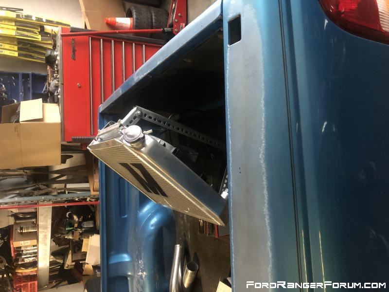 Radiator mock up