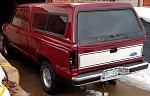 1990 Ranger XLT 4x4 Supercab Amateur restore.