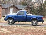 My 2005 ford ranger edge