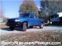 truck now with american racing rims and 31/10.50/15s