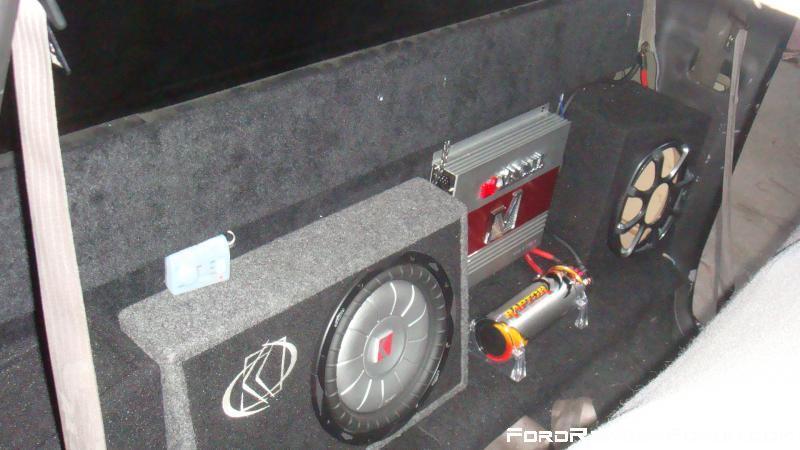 ford ranger custom subwoofer box 2