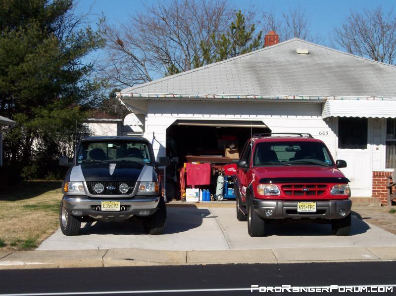 00 Ranger 4X4, & 99 Sport 4X4.