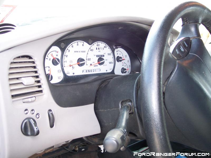 White faced gauges.