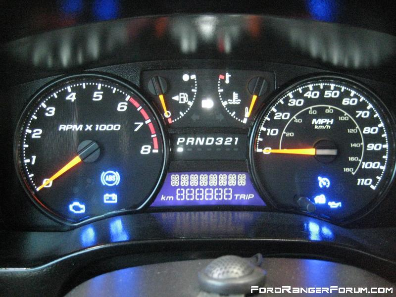 Changing Lights In Dash Speedometer Ford Ranger Forum
