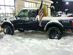 4.0 with 3 inch suspension lift on 33s
