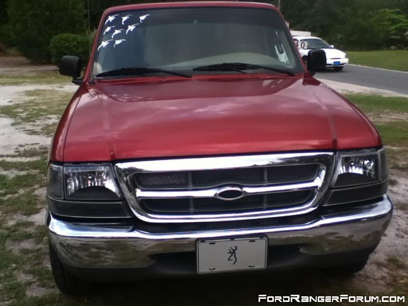 clear black - 2000 Ford Ranger Black