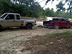 ranger 4x4 pullin out ford f150  2wd