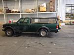 '99 Regular cab/long box 3L V6 4wd Amazon green