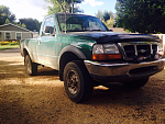 '99 Regular cab/long box 3L V6 4wd Amazon green
