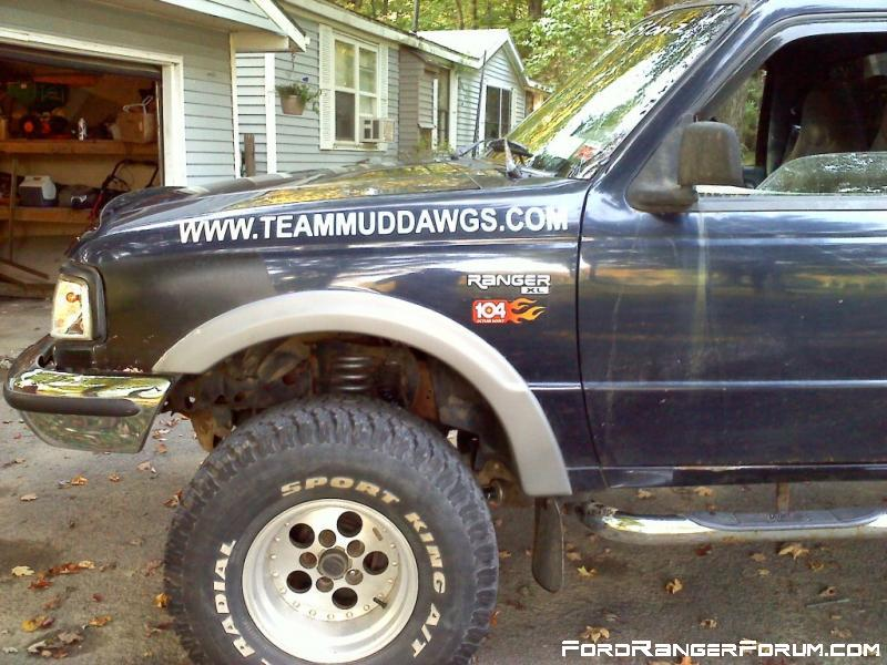 Team Mud Dawgs and sponsorship from Octane Boost!