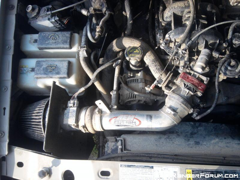 Fan Spacer Cold Air Intake : Cold air intakes i wanna know page ford ranger