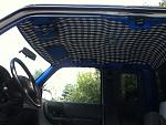 New headliner and painting of interior