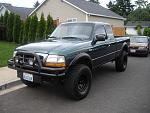 my 2000 ford ranger 4x4 with a 3in bodylift kit and 33in bfgs