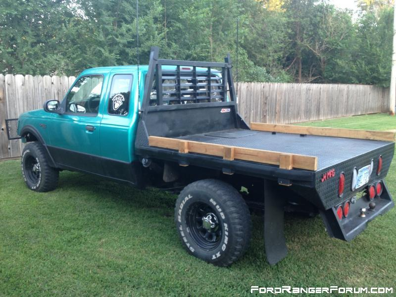 flat bed plans for my 1989 f250 pickup