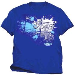 Ford Royal Blue Splatter T-Shirt