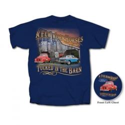 Ford Trucks Work Horses Tucked in Barn T-Shirt