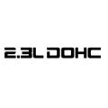 2.3L DOHC sticker