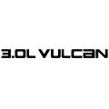 3.0L Vulcan Sticker