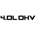 4.0L OHV Sticker